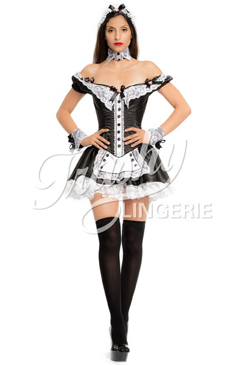 Aspire maids waist apron cosplay outfit white, half dress jpg 1200x1800